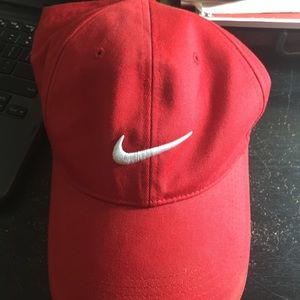 Red Nike Golf hat